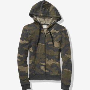 VS Everyday Lounge Perfect Full-zip in Camo